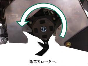 除草刃ローター